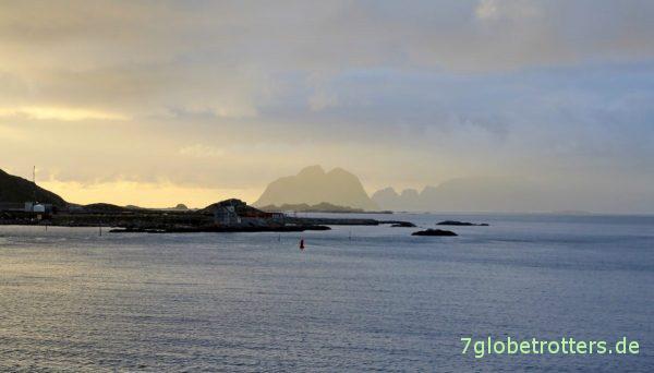 Start zur letzten Etappe von Sørland nach Moskenes