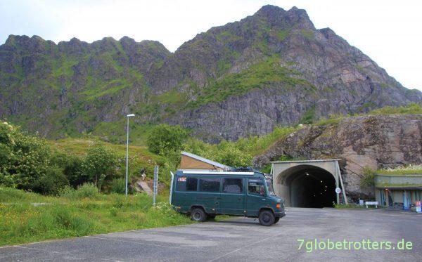 Parkplatz von Å