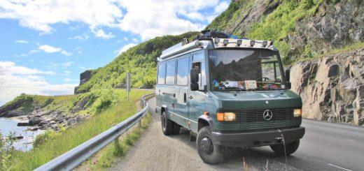 MB 711 auf den Lofoten