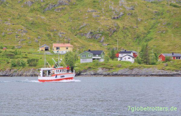 Fischerboot im Kåkersundet