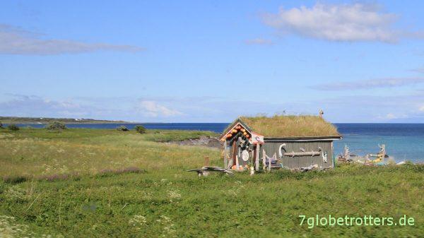 Strandhütte auf den Vesterålen