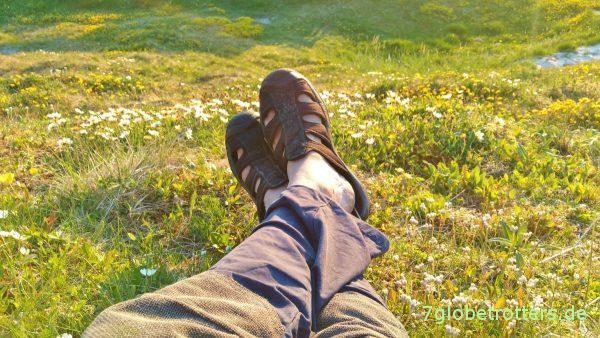 [00:30] Genießen der Mitternachtssonne und der Blumenwiese auf Andøya / Vesterålen
