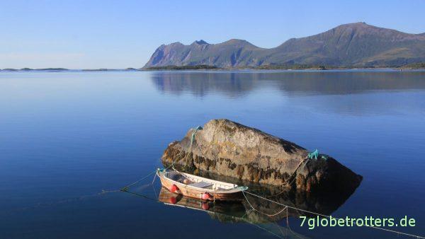 Idylle am Bergsfjord auf Senja