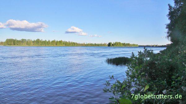 Schweden: Der Kalixälven bei Tärendö