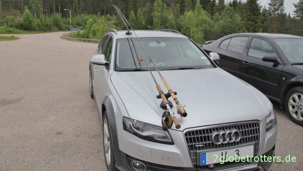 Des Schweden liebste Hobbys: Autos und Angeln