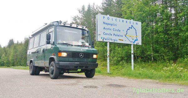 MB 711 am schwedischen Polarkreis