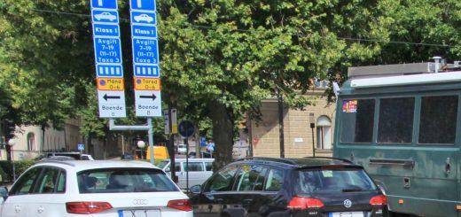 Parken mit dem Wohnmobil in Stockholm geht schon, aber nicht umsonst