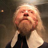 Rekonstruierter Schwede im Vasa-Museum Stockholm