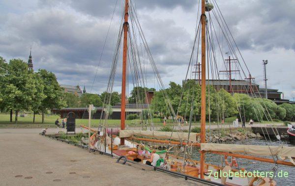 Hafen mit Vasa-Museum
