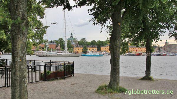 Stockholm ist eine Stadt am Wasser