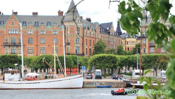 Parken mit dem Wohnmobil in Stockholm: Unser risikoreicher Geheimparkplatz