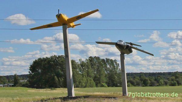 Stolz der Nation: Irgendwelche Saab-Flugzeuge