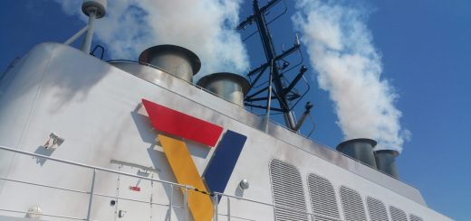 Fährdampfer von Scandlines zwischen Gedser und Rostock
