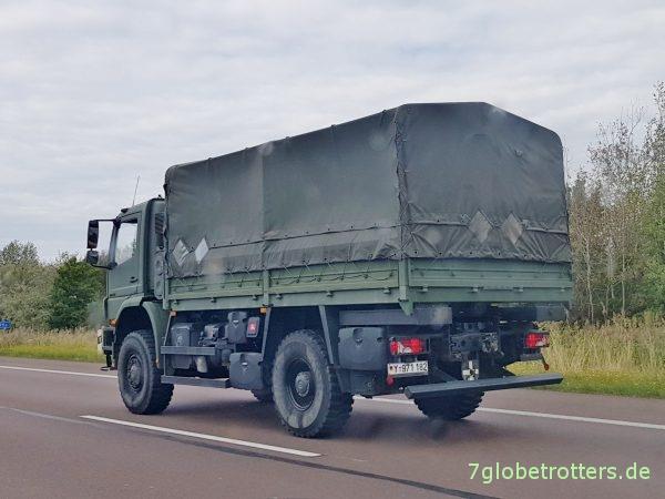 Preise für Mercedes Allrad-LKW: Mercedes Atego MB 1018 A der Bundeswehr für 50 T€?