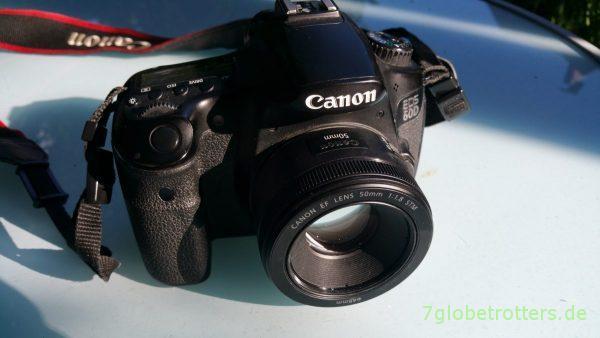 Für mich keine Reisekamera: Canon EOS 60D