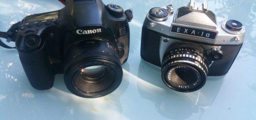 Reisekameravergleich: EOS 60D und EXA 1a