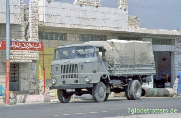 Mutmaßlich irakischer IFA W50 in Syrien