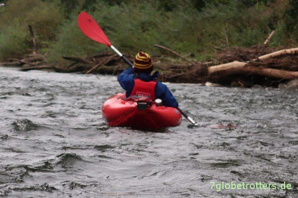 Gumotex Twist im Wildwasser