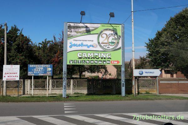 Campingplätze in Serbien: Camping Zasavica bei Sremska Mitrovica