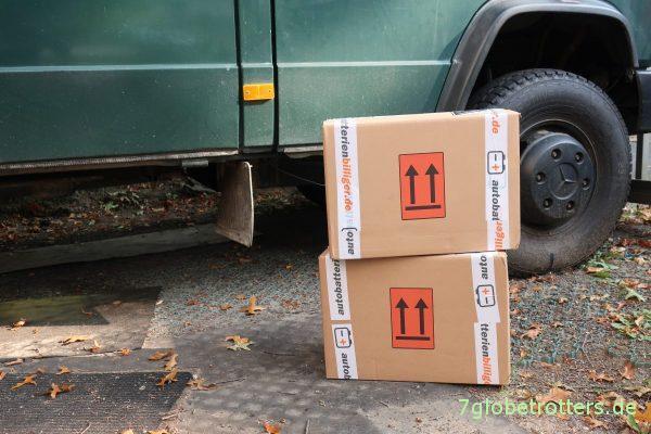Mit Anlieferung: Ective Autobatterien gibt es nur im Internet