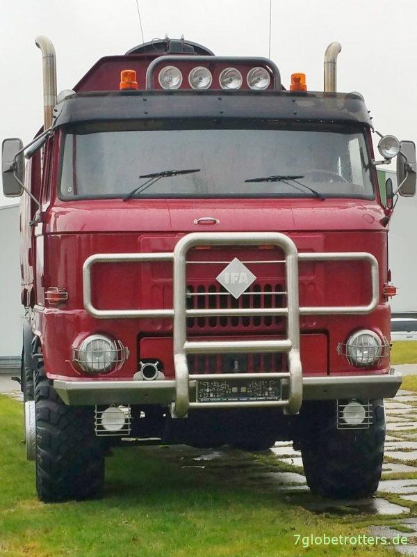 IFA L60 Reisemobil mit LAK2 und IFA-Logo