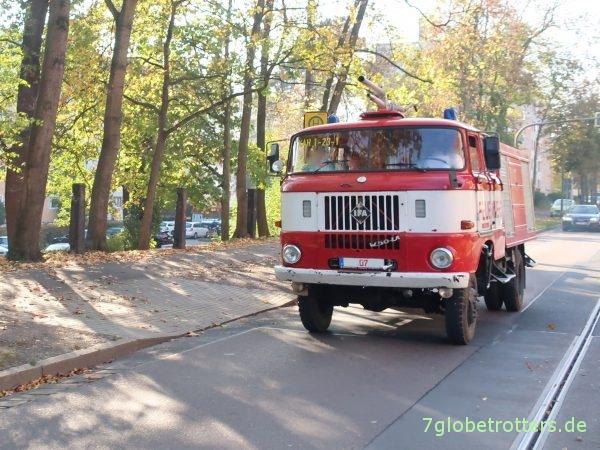 IFA W 50 LA Allrad-Feuerwehrwagen Doppelkabine