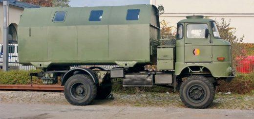 IFA W50 4x4 mit LAK2 der NVA als Expeditionsmobil