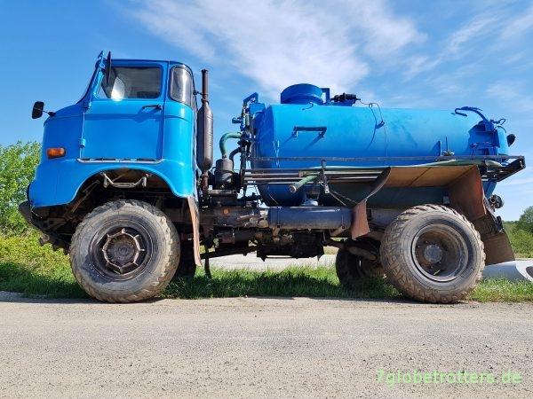 IFA W50 Allrad Tankwagen Niederdruckreifen