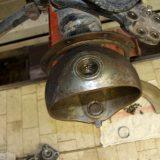 Ausgeschlagene Achsschenkel sanieren am Mercedes LK von Mato Vrbic