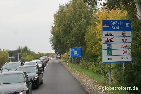 Serbien: Zulässige Höchstgeschwindigkeiten