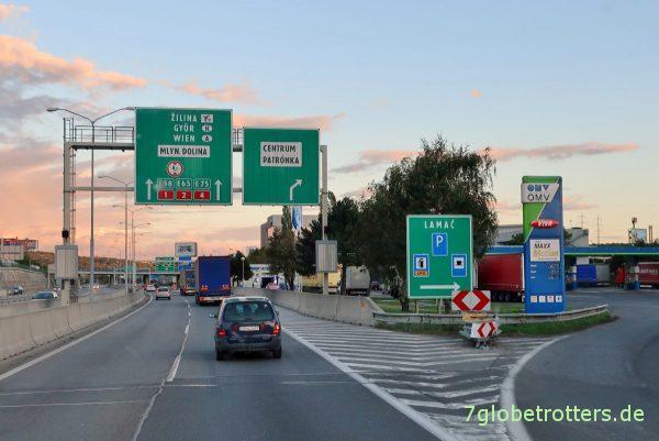 Dieselpreise in der Slowakei