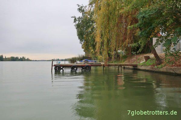 Insel Csepel: Die Ráckevei-Donau
