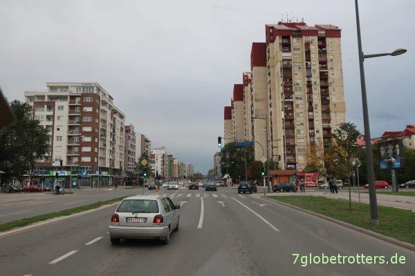 Serbien: Novi Sad