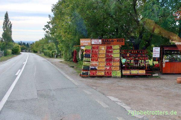Fruška Gora: Reichhaltiges Früchteangebot