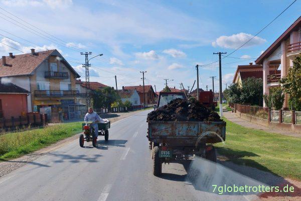 Serbien: Jeder hat einen Traktor