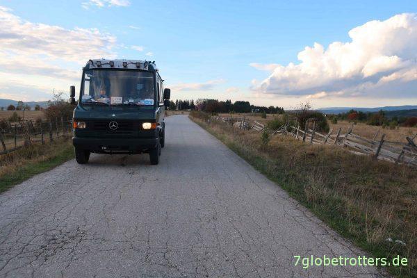 Bosnien-Herzegowina: Mein Abblendlicht am MB 711 geht nicht mehr