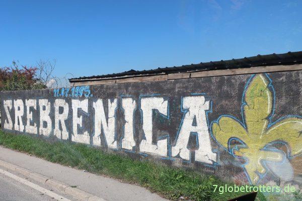 Sarajevo: Erinnerung an das Massaker von Srebrenica