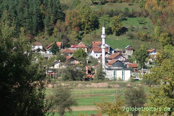 Bosnien-Herzegowina: Minarett von Bukovica
