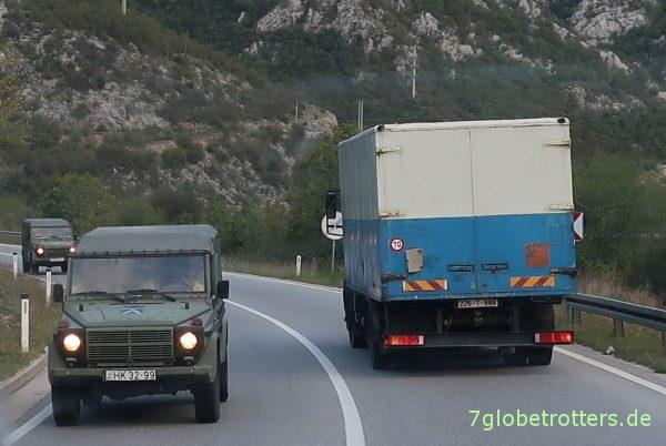 Bosnien-Herzegowina Neretva-Durchbruch: Ungarischer Mercedes G
