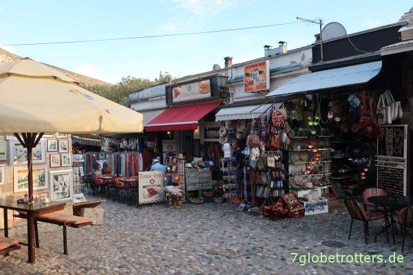 Touristenzone von Mostar