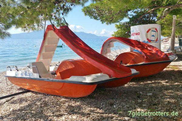 Rutschentretboote als Objekte der Begierde