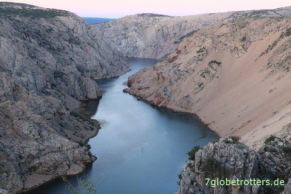 Kroatien: Der Rio Pecos vor Sonnenaufgang