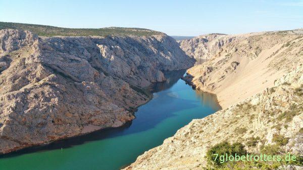 Der Rio Pecos gewinnt an Farbe