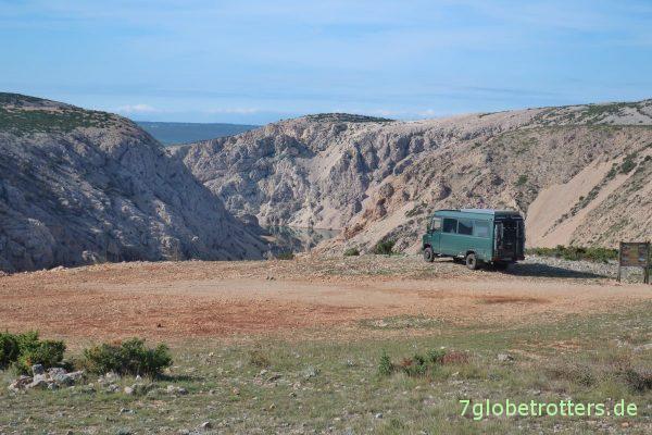 Plateau über dem Rio Pecos