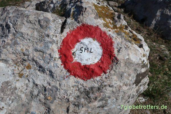 Wanderung zum Nugget Tsil: Lieber auf den Wegen bleiben