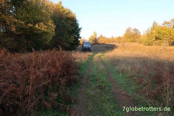 Kroatien: Waldstellplatz in der Nähe der Plitvicer Seen