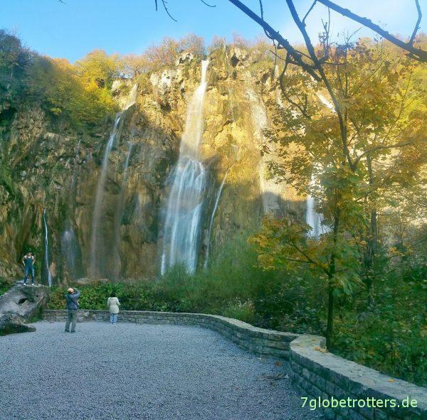 Plitvicer Seen: Der große Wasserfall