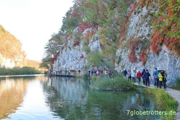 Plitvicer Seen: Stege am Jezero Gavanovac
