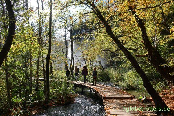 Plitvicer Seen: Wasserfall Veliki Prštavac