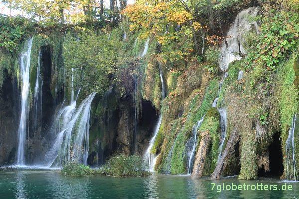 Kroatien: Wasserfälle zwischen den Plitvicer Seen